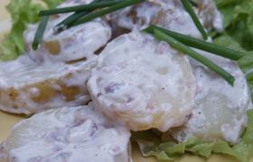 Ziemniaki i anchois