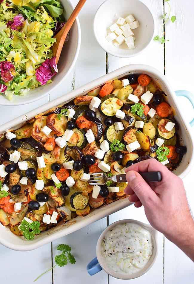 Briami Pieczone Warzywa Po Grecku