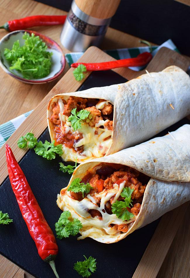 Klasyczne Meksykanskie Burrito