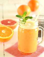 Smoothie cytrusowe z chia