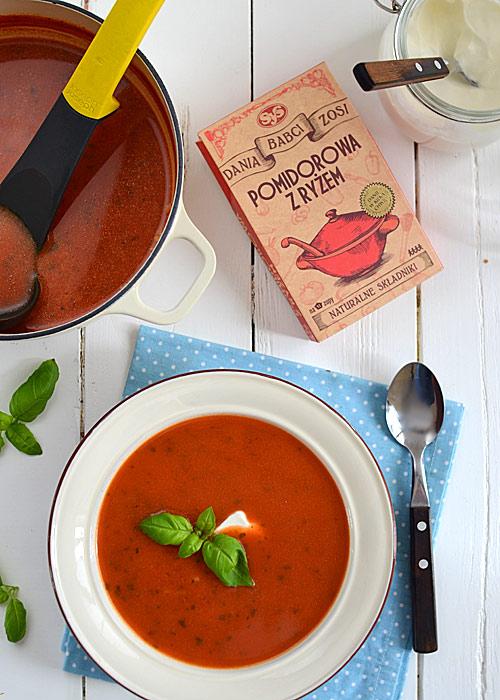Zupa Pomidorowa Z Ryżem Od Babci Zosi Mniammniampl