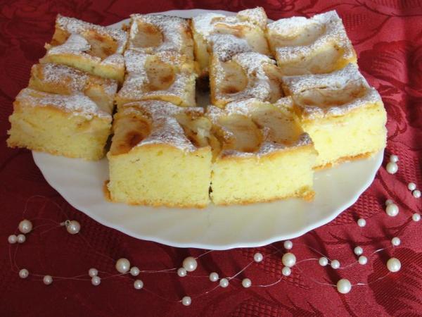 Szybkie Ciasto z Jabłkami na Oleju Ciasto na Oleju z Owocami
