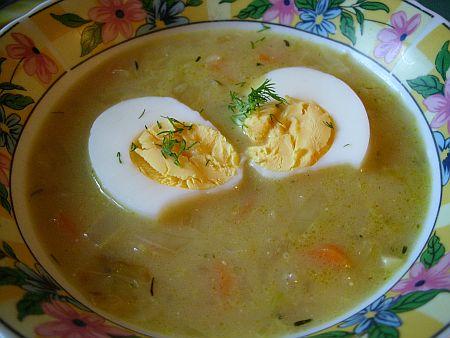 Zupa Z Kapusty Z Marchewka