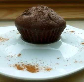 Chocolate nutella muffins