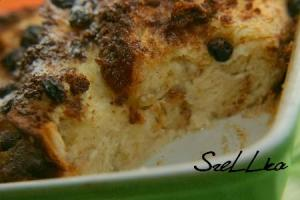 Angielski bread & butter pudding