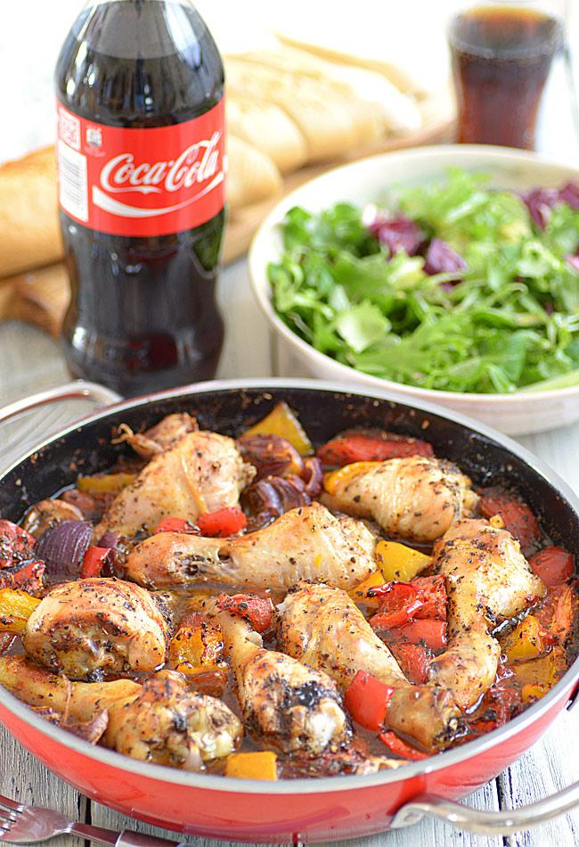 Zapiekane Udka Z Kurczaka Z Warzywami Inspirowane Pomyslem Jamiego Olivera Z Ksiazki Gotuj