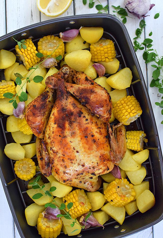 NAJLEPSZY kurczak pieczony w całości!