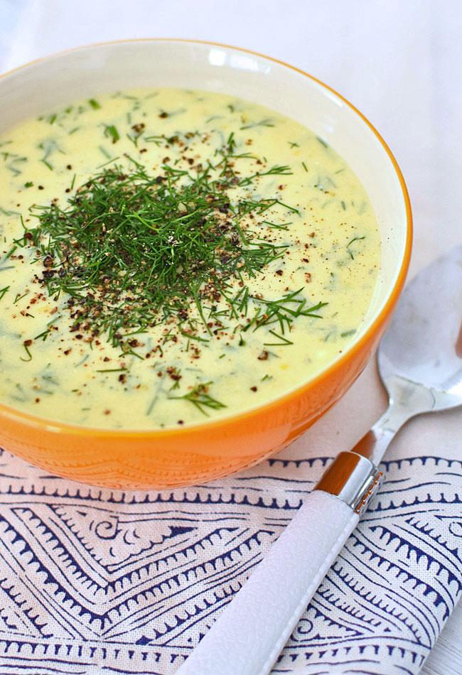 Zupa Koperkowa Fit Zdrowa I Bez Miesa