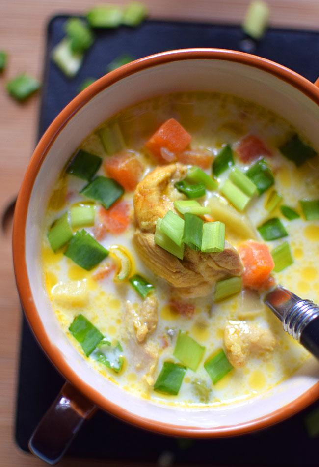 Zupa Z Kurczakiem Marchewka I Groszkiem
