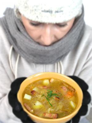 Polskie zimowe zupy