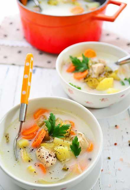 Zupa Ogórkowa Fit I Zdrowa