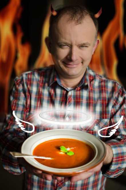 Zupa Pomidorowa Z Ryżem Od Babci Zosi