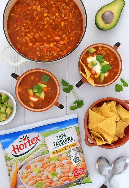 Zupa Meksykańska Z Mielonym Mięsem